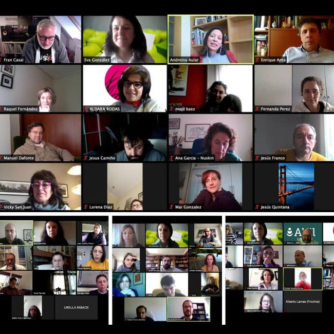 reunion de networking on line