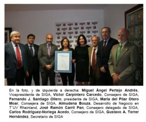 Tuv Rheinland certificadora