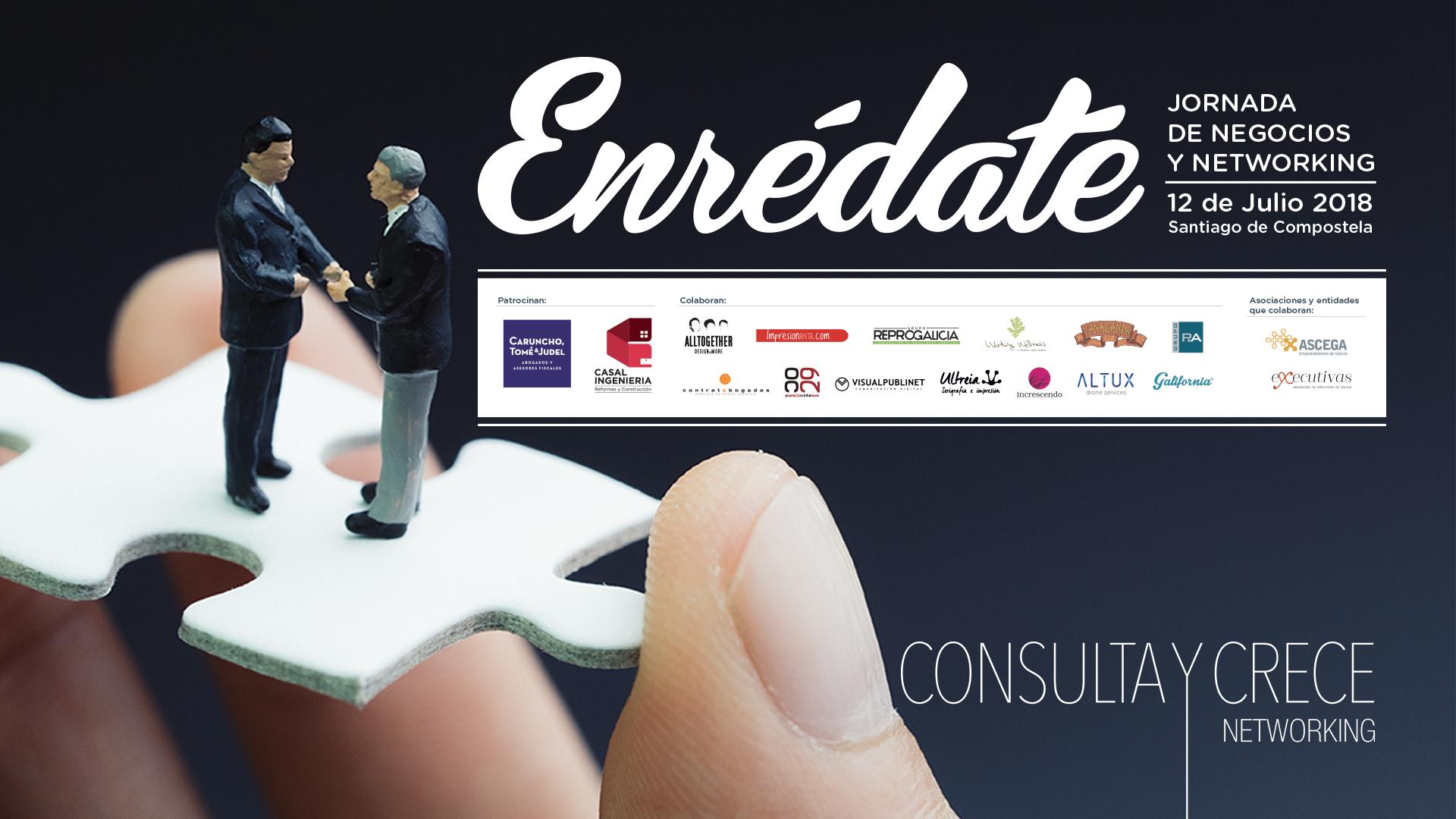Enredate 2018 Evento De Networking En Santiago De Compostela