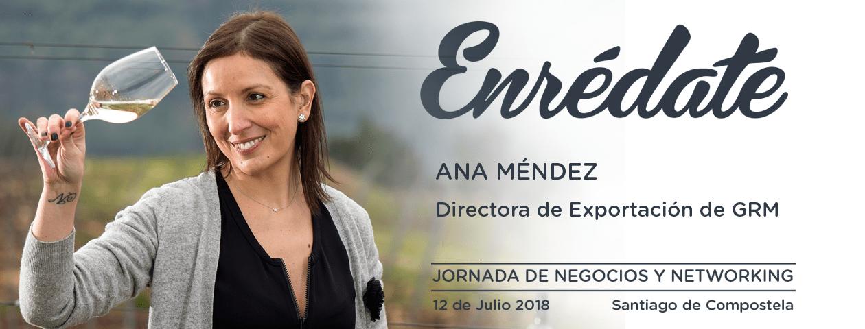 Enredate 2018 jornada de negocios y networking Ana Mendez